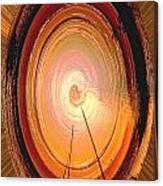 Sailboat Abstract Canvas Print