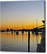 Sailboat Bay Canvas Print