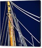 Sailboat Lines Canvas Print