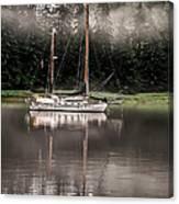 Sailboat Reflection Canvas Print