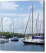 Sailboat Series 05 Canvas Print