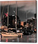 Sailboats Sleep Canvas Print