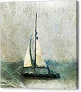 Sailin' With Sally Starr Canvas Print