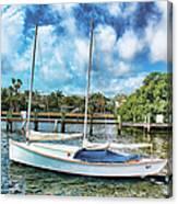 Sailboat Series 01 Canvas Print