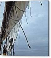 Sailing A Skipjack Canvas Print