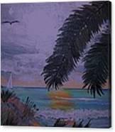 Sailing Along The Shore Canvas Print