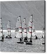 Sailing Boats Canvas Print