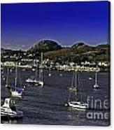 Sailing Conwy Harbor Canvas Print