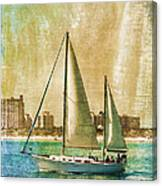 Sailing Dreams On A Summer Day Canvas Print