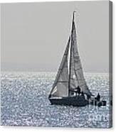 Sailing Free Canvas Print