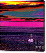 Sailing Home After Long At Sea Canvas Print