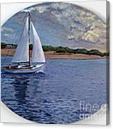 Sailing Homeward Bound Canvas Print