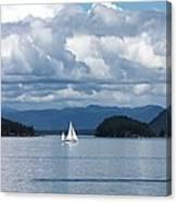 Sailing In The San Juans Canvas Print