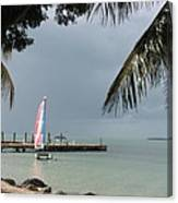 Sailing Key Largo Canvas Print