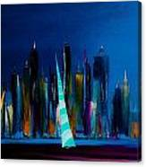 Sailing New York 3 Canvas Print
