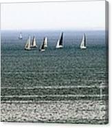 Sailing On Lake Erie Canvas Print