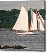 Sailing Portland Canvas Print