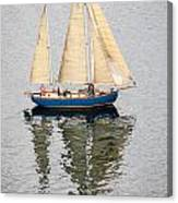 Sailing Puget Sound Canvas Print