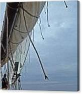 Sailing Skipjack Canvas Print