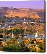 Sailing The Nile Canvas Print
