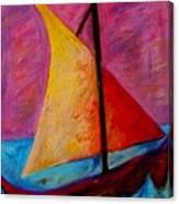 Sailing The Seas Canvas Print