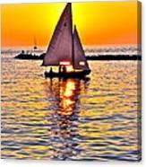 Sailing The Seven Seas Canvas Print