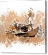 Sailing Time Canvas Print