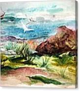 Sailing Towards Anywhere Canvas Print