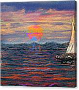 Sailing While Dreaming Canvas Print