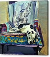 Sailor's Chair Canvas Print