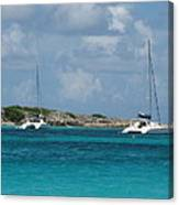 Sails Down Canvas Print