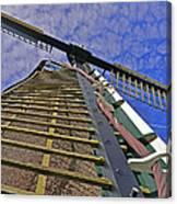 Sails Of A Windmill Canvas Print