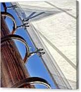 Sails Up Canvas Print