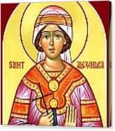 Saint Alexandra Canvas Print