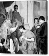 Saint Ambrose (339-397) Canvas Print
