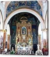 Saint Ana Church. Canvas Print