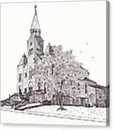 Saint Bridget Church Canvas Print