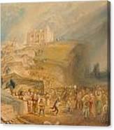 Saint Catherine's Hill Canvas Print