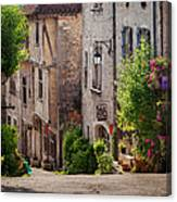 Saint Cirq Street Canvas Print