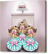 Saint Cupcakes Canvas Print