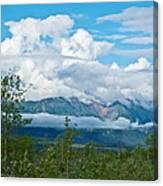 Saint Elias Mountains In Kluane National Park-yk  Canvas Print