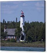 Saint Helena Lighthouse 2 Canvas Print