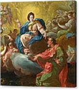 Saint James Being Visited By The Virgin Canvas Print