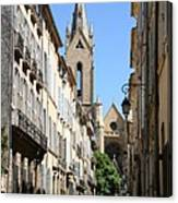 Saint Jean De Malte - Aix En Provence Canvas Print