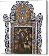 Saint John. Colonial Baroque. Oil Canvas Print