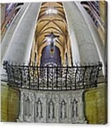 Saint John The Divine Rear Altar View Canvas Print