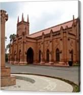 Saint John's Cathedral Anglican Church Peshawar Pakistan Canvas Print