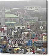 Saint John's. Newfoundland. Canada. Canvas Print