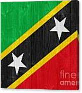 Saint Kitts And Nevis Flag Canvas Print