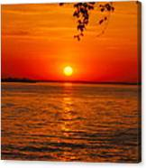 Saint Lawrence River Sunset IIi Canvas Print